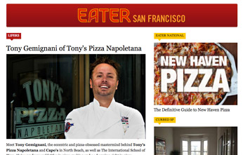 Tony Gemignani of Tony's Pizza Napoletana